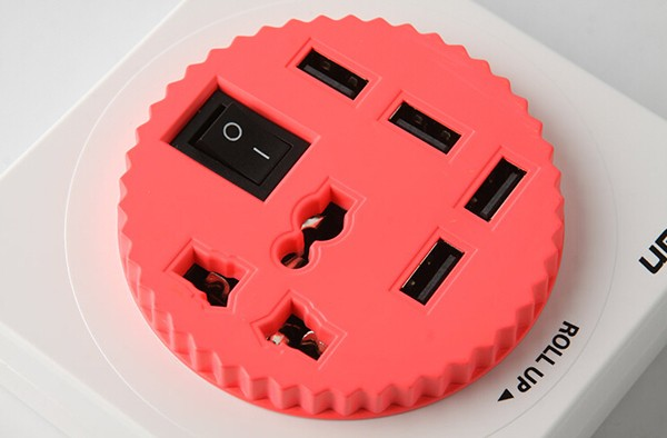 UCS智能充电芯片|便携式USB万能插座