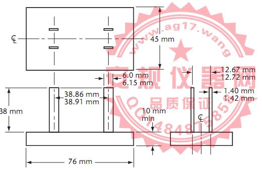 CSA C22 No.42图25插座插入治具|插座装配安全性插入治具|Figure 25 Push-out tool
