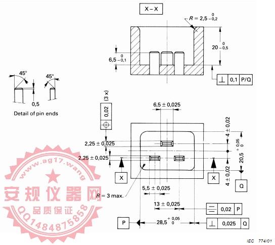 GB17465.1|图9L-C19通规|16A品字尾C19通规|IEC60320-1|EN60320-1|Figure 9L-C19 Go-gauge